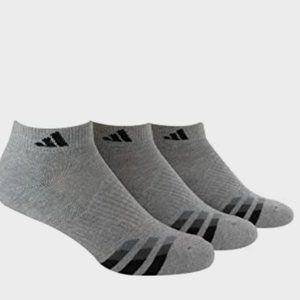 adidas Men's Cushioned Low Cut Socks (3-PAIR)